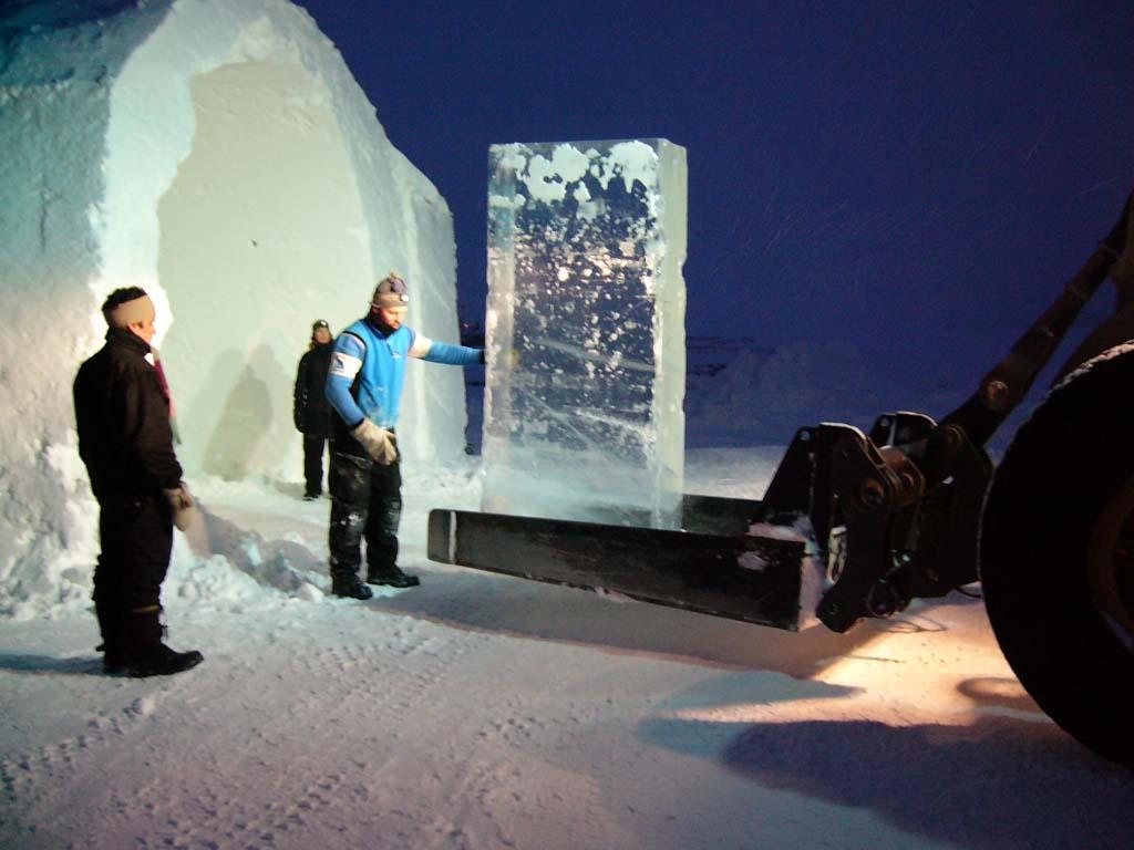 ice hotel loading